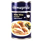 Homepride Can Wine and Cream Cook In Sauce 500g