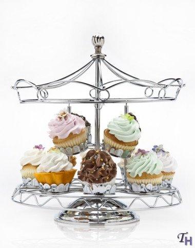 Godinger Serveware, Carousel Cupcake Stand (Carousel Cupcake Stand compare prices)