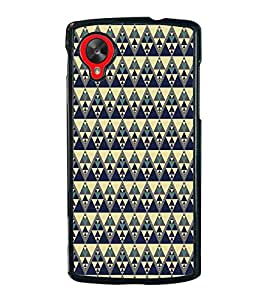 iFasho Animated Pattern colrful tribal design Back Case Cover for LG Google Nexus 5