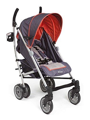 Delta Children Elite Comfort Stroller, Urban Edge front-259900