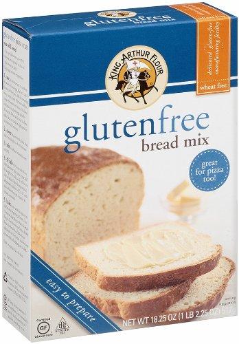 King Arthur Flour Bread Mix, Gluten Free, 18.25 Ounce Packages (Pack of 3) (King Arthur Bread Machine Flour compare prices)