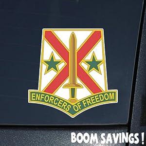 Amazon.com: US Army 203rd Military Police Battalion DUI 6 ...