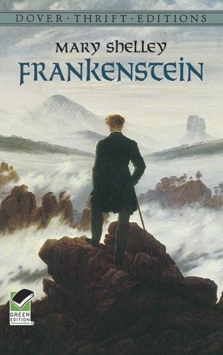 Frankenstein by Mary Shelly