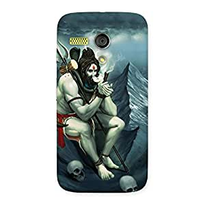 Shiva Multicolor Back Case Cover for Moto G