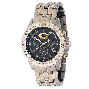 NCAA Men's CL-GEO Legend Series Georgia Bulldogs Black Dial Watch
