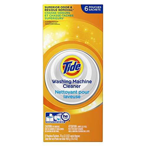 Tide Washing Machine Cleaner Detergent Carton 6 Count