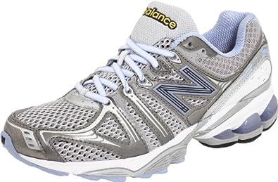 New Balance WR1080LS, Damen, Sportschuhe - Running, Silber (White/Silver/Lavender), EU 41.5 (UK 8) (US 10)