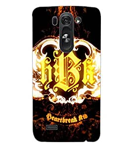 ColourCraft HBK Design Back Case Cover for LG G3 BEAT