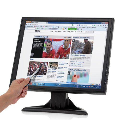 17 Inch Touch Screen Lcd Monitor - 1280X1024 Resolution, Vga, Hdmi, Tv In, For Pc/Pos front-487561