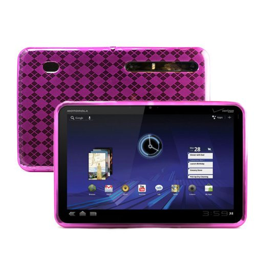 ( Argyle Pink ) Xoom Skin for Motorola Xoom Tablet Android 3.0