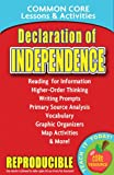 Declaration of Independence: Common Core Lessons & Activities