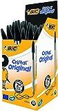 BiC Cristal Medium Ballpoint Pen Pack of 50 - Black