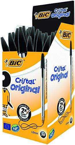 bic-cristal-original-punta-media-1-mm-confezione-50-penne-colore-nero