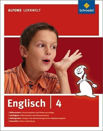 Alfons - Ausgabe 2006: Alfons Lernwelt Lernsoftware Englisch - Ausgabe 2009: Englisch 4