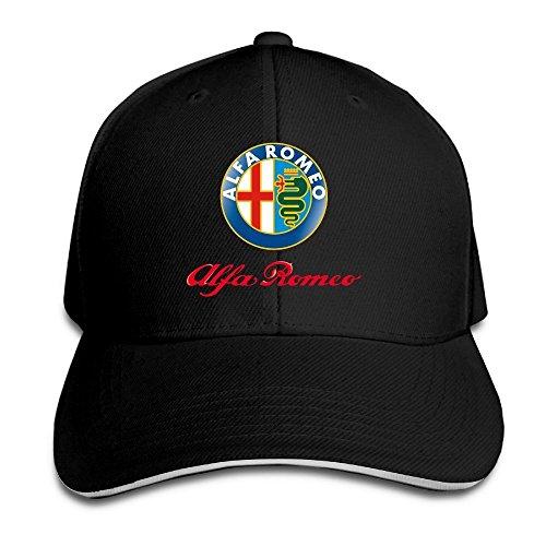 hmkolo-alfa-romeo-sandwich-baseball-caps-for-unisex-adjustable-black