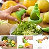 UDTEE Practicle Green Plastic Citrus Sprayer Set Mist for Extractor Set Lemon Lime Fruit Kitchen Tool