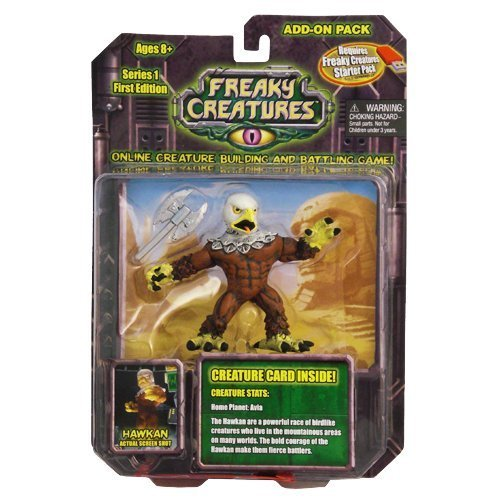 Freaky Creatures Series 1 Action Figure Add-On Pack Hawkan
