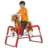 Rockin Rider Lucky Talking Plush Spring Horse