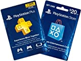 1-Year PS Plus + $20 PS Gift Card - PS3 / PS4 [Digital Code]