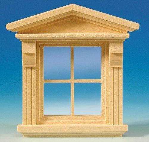 Viktorianisches Puppenhaus Holz ~ Kleines Viktorianisches Fenster für das Puppenhaus