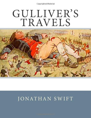 an analysis of the book gullivers travel written by jonathan swift Gulliver's travels is perhaps one of the most read books ever written by an author at first glance, it appears to be a simple tale of travel to exotic lands.
