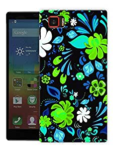"Neon Flowers On Black Printed Designer Mobile Back Cover For ""Lenovo Vibe Z2 Pro K920"" By Humor Gang (3D, Matte Finish, Premium Quality, Protective Snap On Slim Hard Phone Case, Multi Color)"