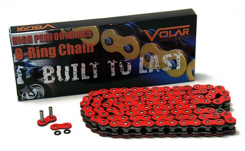 1999-2000 Honda CBR600F4 O Ring Chain - Red