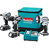 Makita LCT300W 18-Volt Compact Lithium-Ion Cordless 3-Piece Combo Kit ~ Makita