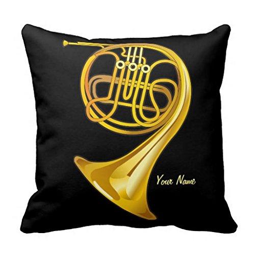 Generic-French-Horn-Player-Personalisierte-Musik-Geschenk-Kissen-Fall-457-x-457-cm-Kissenbezug