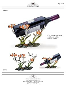 Clown Fish Wine Bottle Holder