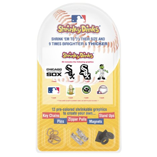 MLB Chicago White Sox Shrinky Dinks