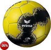 ERIMA G10 - Pallone da pallamano, colore: Giallo/Nero/Argento