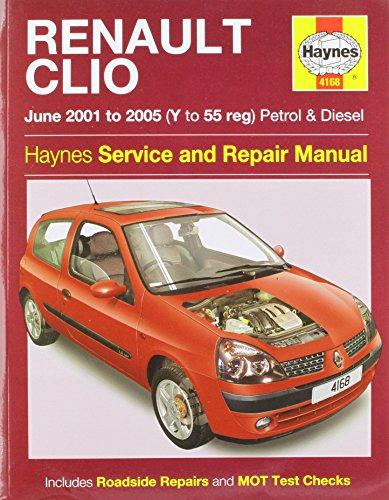 Renault Clio Service and Repair Manual (Haynes Service and Repair Manuals)