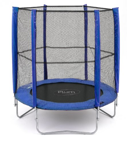 Plum Products 6ft Trampoline  &  Enclosure Blue