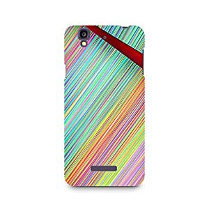 Motivatebox- Broken Abstract Lines Premium Printed Case For Micromax YU Yureka A05510 -Matte Polycarbonate 3D Hard case Mobile Cell Phone Protective BACK CASE COVER. Hard Shockproof Scratch-
