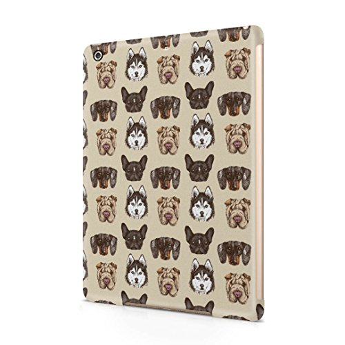 various-dog-breed-heads-pattern-apple-ipad-air-1-snap-on-hard-plastic-protective-shell-case-cover