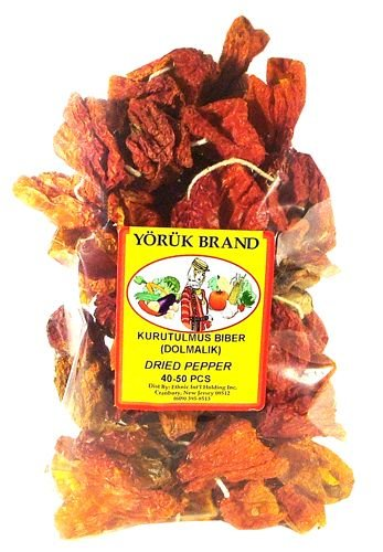 Dried Red Pepper for Stuffing