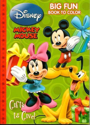 Mickey Mouse Christmas Big Fun Book To Color - 1