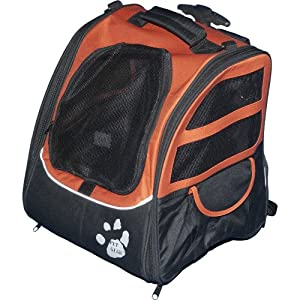Pet Gear I-GO2 Traveler Roller Backpack for Cats and Dogs from Pet Gear