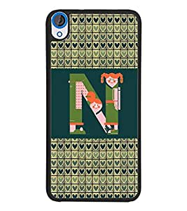 PrintDhaba HTC820bet N D-4146 Back Case Cover for HTC DESIRE 820 (Multi-Coloured)