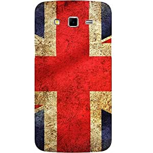 Casotec UK Flag Design Hard Back Case Cover for Samsung Galaxy Grand Neo