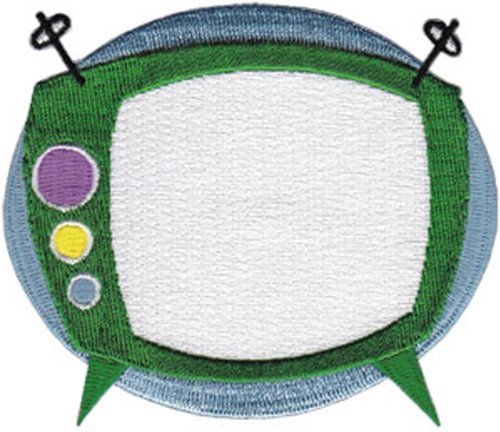 "Application 50"" Retro TV Patch"