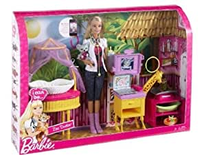 Mattel Barbie I can be Zoo Doctor Playset