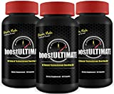 boostULTIMATE - #1 Rated Testosterone Booster with 100% Moneyback Guarantee - Increase Stamina, Size, Energy & More - 3 Month Supply