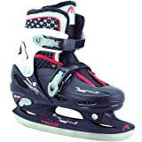 Head Cool Boy Children's Ice Skates Adjustable Multi-Coloured Schwarz/weiÃ/rot Size:30-33