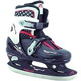 Head Cool Boy Children's Ice Skates Adjustable Multi-Coloured Schwarz/weiÃ/rot Size:30-33