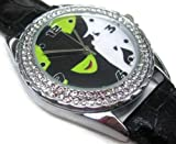 New Fashion WS264 New Leather Diamond Crystal Watch / Wicked The Musical