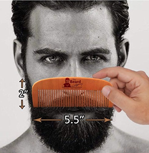 premium beard comb beard oil kit for men made in usa. Black Bedroom Furniture Sets. Home Design Ideas