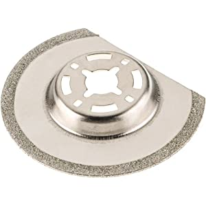 Grizzly T25149 2-9/16-Inch Diamond Coated Saw Blade for Oscillating Multi-Tools