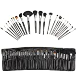 Beautify - 24 pcs Cosmetic/Make up Brush Set with Leather Caseby Beautify